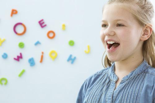Child Undergoing Speech Therapy